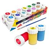 Tritart Set de couleurs acryliques pour enfants et adultes I Set de 14 couleurs acryliques