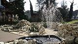 SUNSUN Teichfontäne 1000 L/h 3 AufsätzeTeich Fontäne HJ-1143 Springbrunnen Pumpe Bachlaufpumpe