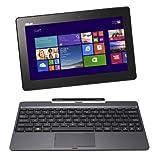 Asus Transformer Book T100TAF-BING-DK001B PC portable Hybride Tactile 10,1' Gris (Intel Atom, 1 Go de RAM, Disque dur eMMC 32 Go, Windows 8.1) + Microsoft Office 365 inclus