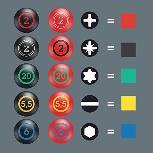 Wera 335 Schlitz-Schraubendreher - Elektrikerklinge, 0.5 x 3.0 x 80 mm, 05110001001