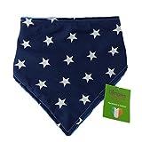 Dimples Hundehalstuch - Blau mit Sternen  45cm