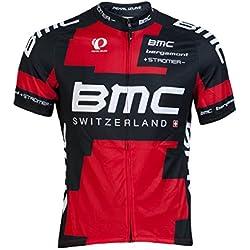 BMC Team Promotional Juego 2013 Size XXL Unisex Camiseta Rojo/Negro/Blanco