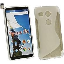 Emartbuy® LG Nexus 5X Ultrafina a Presión TPU Gel Funda Carcasa Case Cover Claro