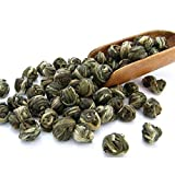 Tealyra - Imperial Jasmine Dragon Pearls - Jasmintee - Drachenperlen - Grüner Tee - Loose Leaf Green Tea - Organically Produced - Pleasant Aroma and Tonic Effect - 100g