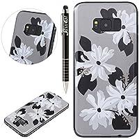Galaxy S8 Plus Hülle,SainCat Farbe Blume Muster Hülle Weiche TPU Rahmen mit Hartem PC Rückdeckel Handyhülle mit... preisvergleich bei billige-tabletten.eu