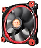 Thermaltake 140 mm Riing14 Led Fan - Red