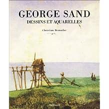 George Sand. Dessins et aquarelles. «Les montagnes bleues»