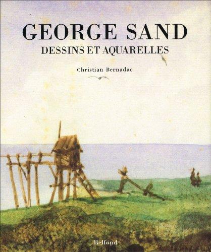 Book's Cover of George Sand Dessins et aquarelles Les montagnes bleues