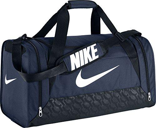 Nike Unisex Sporttasche Brasilia 6 Midnight Navy/Black/White