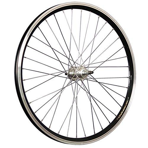 Taylor-Wheels 24 Zoll Hinterrad Grünert Dynamic4 Schraubnabe Aluminium (Laufrad 24)