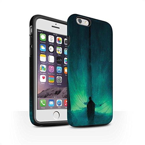 Offiziell Chris Cold Hülle / Matte Harten Stoßfest Case für Apple iPhone 6 / Pack 10pcs Muster / Dunkle Kunst Dämon Kollektion Bösen Herzens