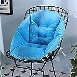 Chaise Lounger Kissen Stuhlkissen Schreibtisch Sitzkissen Schreibtisch Sitzkissen Rückenlehne Sitzkissen Bürostuhl Küchenstuhl mit verstellbaren Rückenkissen Sitzbezug