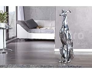 Statue design chien assis