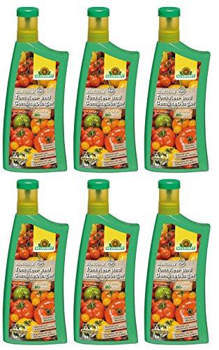 6 x 1 Liter Neudorff BioTrissol TomatenDünger