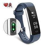 Motenik Fitness Tracker, Schlank Aktivitätstracker mit Herzfrequenzmesser Fitness Armbänder