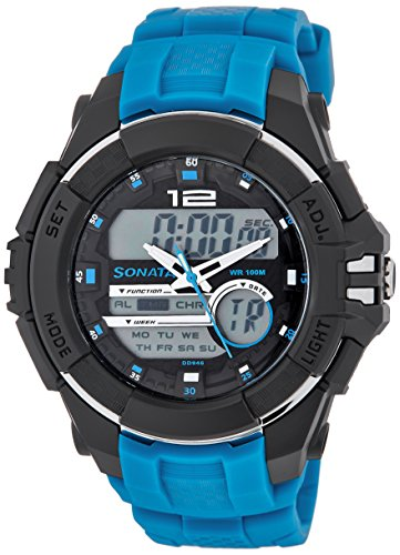 Sonata Ocean Series III Analog Multi-Color Dial Unisex Watch - 77027PP02J image