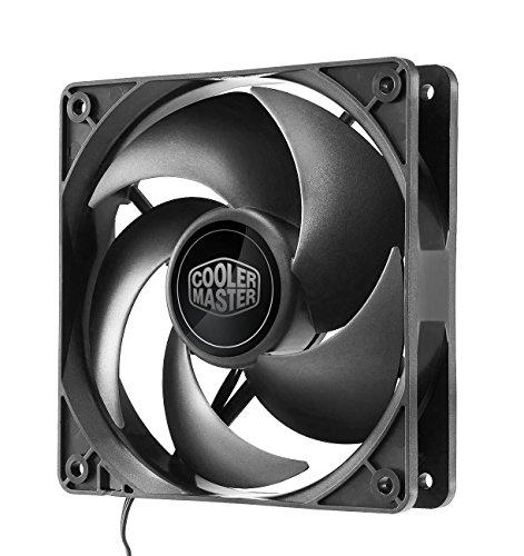 Cooler Master Silencio FP 120 3-Pin Ventilateurs de boîtier '1200 +/- 200 RPM, 120mm, Loop Dymanic Bearing' R4-SFNL-12FK-R1