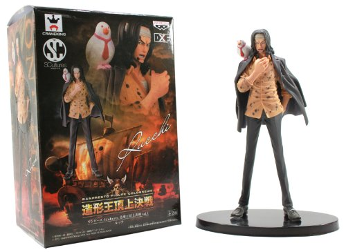 One Piece Banpresto Figure Colosseum SCultures Vol. 4-Rob Lucci-48149 1