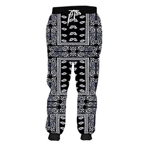 Unisex 3D Print Schwarz Bandana Hoodies Paisley Sweatshirt T-Shirt, Hoodies, Jacke Bandana Paisley 5XL - Midweight Denim Shirt