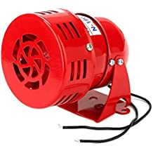 WEONE reemplazo Red Industrial CA 220V MS-190 de alta potencia zumbador sirena de alarma de sonido del motor del hierro + ABS de la lámina de sonido