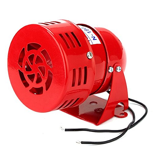 WEONE Ersatz Red Industrie 220V AC MS-190 High Power Summer Sirene Alarm Ton Motor Eisen + ABS Kellen Ton