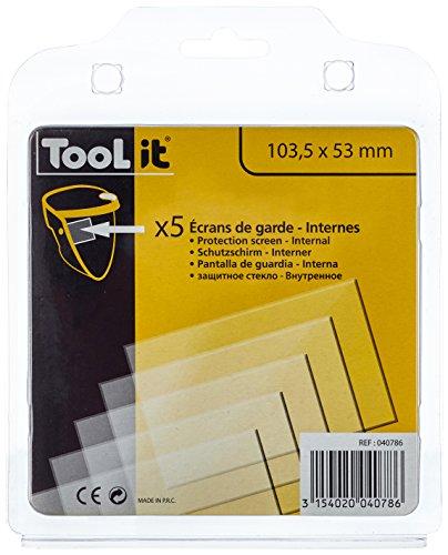 GYS 040786 5 Innenscheiben ( 103, 6x53 mm) - Master 9-13 G, 5 Stück
