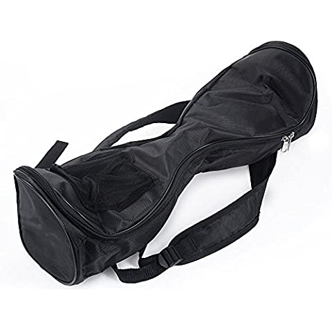 selitoo impermeable Hover Board Bag Mochila para eléctrico 2ruedas Smart Self Balancing Scooter a la deriva junta con bolsillo de malla–Correas Ajustables–Negro