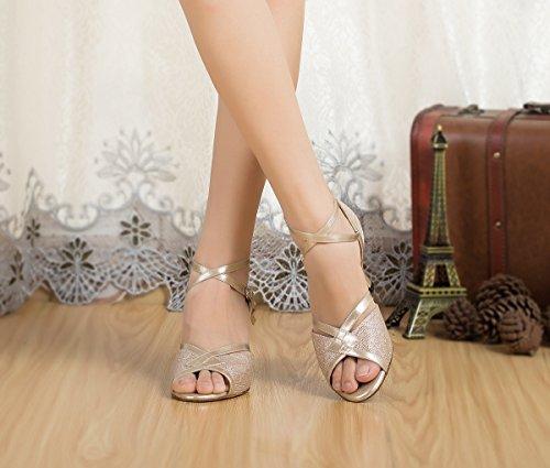 Miyoopark - Ballroom donna Champagne-7cm Heel