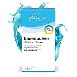 Basenpulver pH-balance Pascoe inkl. pH-Teststreifen vegan, 260 g