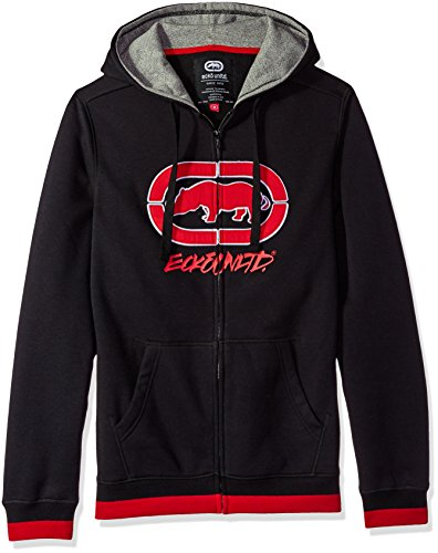 Ecko Herren Kapuzenpullover UNLTD In The Midst Fz - Schwarz - Groß (Sweatshirt Ecko Hoodie Mens New)