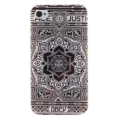 HUANGTAOLI Custodia in Silicone TPU Case Cover per Apple iPhone 4 4S 4G A13