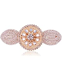 Accessher Designer Studded Back Hair Clip/ Hair Barrette/ Hair Pin Hair Accessories For Women - B074Y2K96Z