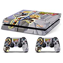 Skin PS4 HD DRAGONBALL GT TRUNKS - limited edition DECAL COVER ADHESIVO playstation 4 SONY BUNDLE