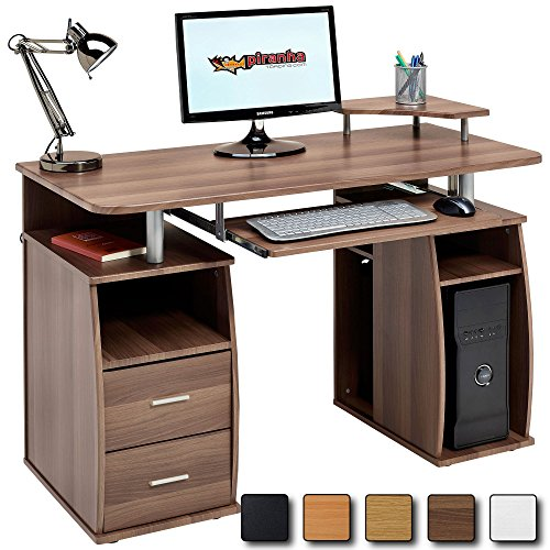 computer-desk-with-shelves-cupboard-and-drawers-for-home-office-in-dark-walnut-effect-piranha-furnit