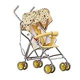 L&L Carrozzina Trolley per Bambini Comfort Ultra-Leggero Comfort Multifunzione Seduta reclinabile Ombrello da Bici Pieghevole per Bambini (Colore : A)