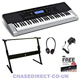 Best Casio Music Stands - Casio CTK-4400 Deluxe Bundle With Adjustable X-Z-Shaped Keyboard Review