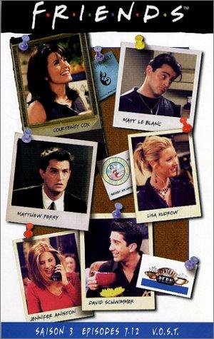 Preisvergleich Produktbild Friends - Saison 3 : Episodes 7 à 12 - VOST [VHS]