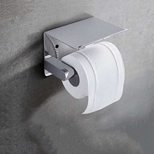 YNG Toilettenpapier-Gestell-Toiletten-Papier-Zahnstangen Papierhandtücher an der Wand befestigte Toiletten-Badezimmer