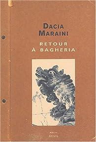 Retour à Bagheria par Dacia Maraini
