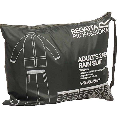 Regatta Herren Classic Regenanzug bestehend aus Hose und Jacke Dark Olive