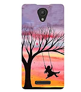 PRINTSWAG PLAYING GIRL Designer Back Cover Case for XIAOMI REDMI 3S