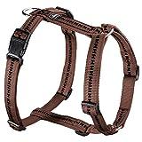 Hunter Power Grip Vario Rapid Nylon Hunde Geschirr (30-40cm) (Braun)