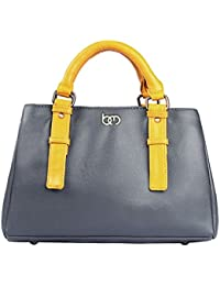 Bagsy Malone Women Smoky Oyster Grey Handbag