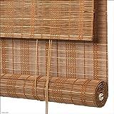 WUFENG Bambus Rollo Wasserdicht Feuchtigkeitsfest Schlafzimmer Abgeschnitten Schatten Schattierung Draussen Innen Mehrere Größen Kann Angepasst Werden (Farbe : D, größe : 140x230cm)