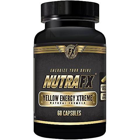 nutrafx amarillo energía xtreme- thermogenics quemador de grasa para pérdida de peso Pre Workout Suplemento