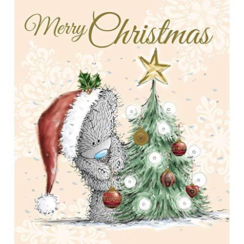 Unbekannt Liebenswürdig, ME to You Teddybär Tatty Teddy Dekorieren Baum Weihnachten Karte