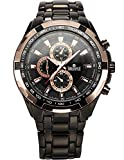 Swisstyle expedition Chronograph look black dial analog watch for men - SS-GR6612-BLK-CH