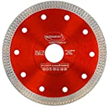 PRODIAMANT Disco diamantato Premium per piastrelle / gres porcellanato 125 mm x 22,23 mm Disco diamantato PDX93.936 Disco per piastrelle 125 mm