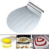 Espeedy support à gâteau Plateau tournant pour décoration de gâteaux Pelle transfert Plateau à gâteau gâteau Lifter