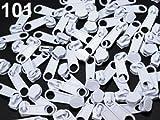 10 Zipper Schieber für Reißverschluss endlos 3mm spiralförmig